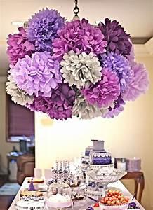 Decoracion Papel Decoracin Con Flores Gigantes De Papel