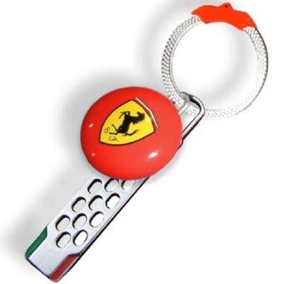 ferrari shield aluminium keychain fp