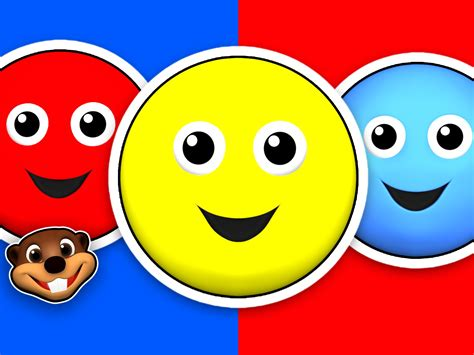 primary colors song quot circle blue circle quot learn the primary colors 3d