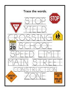 Road Safety Worksheets For Kindergarten  1000 Ideas About Safety Rules For Kids On Pinterest