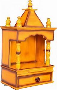 Excellent Wooden Temple With Door Photos - Plan 3D house