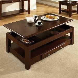 Table Basse Ikea : la table basse relevable pour votre salon fonctionnel ~ Nature-et-papiers.com Idées de Décoration