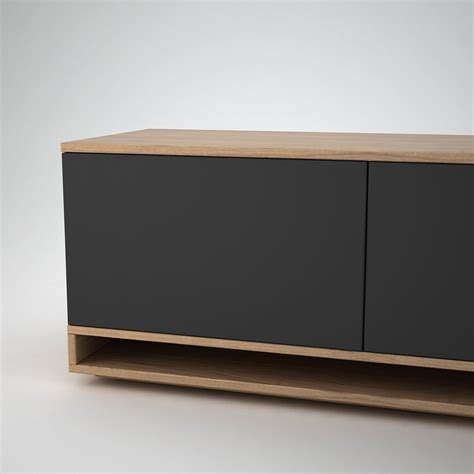 Low Sideboards by Harlem Low Sideboard 2 Anthracite Join Furniture