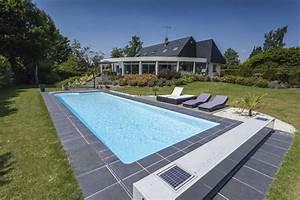 Piscine Enterrée Rectangulaire : la piscine rectangulaire piscines magiline ~ Farleysfitness.com Idées de Décoration