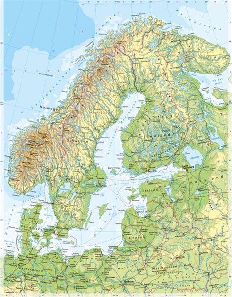 Baltikum Karte Deutsch