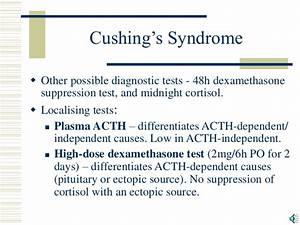 Cushing's Syndrome and Addison's Disease