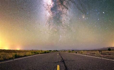 This Road Leads The Heart Milky Way Universe Today