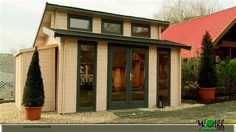 gartenhäuser zum wohnen gartenhaus langeoog wolff finnhaus bietet viel licht und extravagantes design