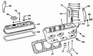 Omc Stern Drive Cylinder Head Parts For 1986 4 3l 432amkwb