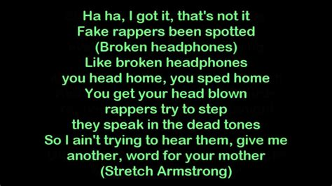rap clean lyrics freestyle funny quotes lyric quotesgram