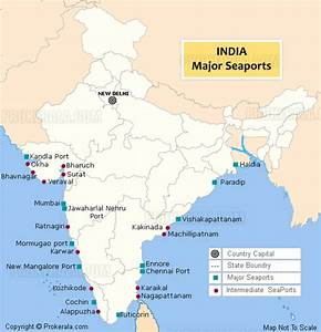 India Sea Port Map | Sea Ports in India with location