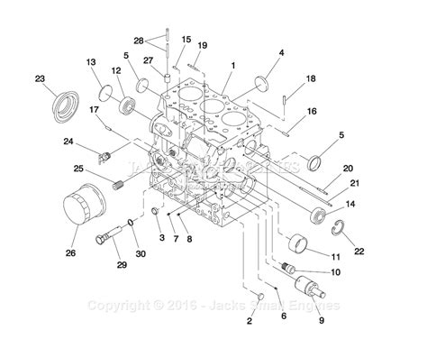 Generac Parts Diagram For Diesel Cylinder Block