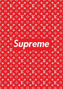 SUPREME Poster A1 Large bedroom poster stylish and trendy