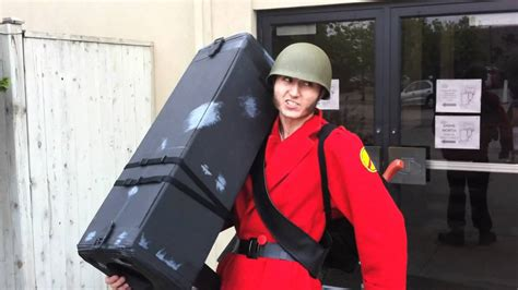Team Fortress 2 Soldier Cosplay Anime North 2011 Youtube