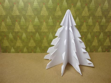 how to make a paper christmas tree in diy crafts zipr