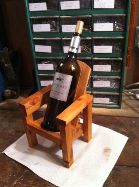 thom s mini adirondack chair wine bottle holder jays