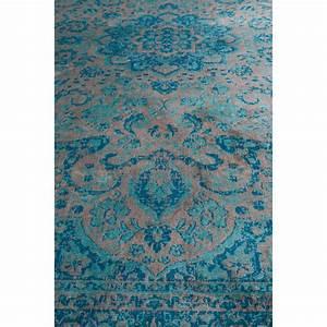 tapis motifs orientaux bleu chi With tapis oriental avec ou acheter canapé