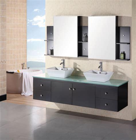 Modern Bathroom Counter by 72 Inch Modern Vessel Sink Bathroom Vanity With