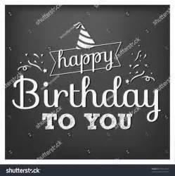 vintage happy birthday vector illustration on stock vector 167512673