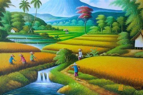 gambar wallpaper pemandangan kartun gambar gambar mewarnai