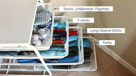 How To Keep Clothes In Cupboard by How To Organize Folded Clothes Without Dressers School
