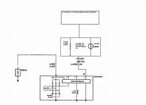 1 Wire Alternator Wiring Diagram