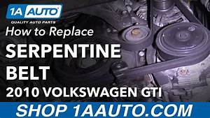 How To Replace Serpentine Belt 10