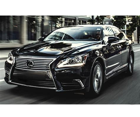 2017 Lexus LS Might Get Hydrogen Powered Modification
