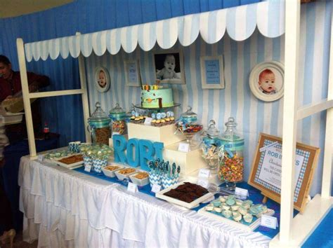 Baptism Decoration Ideas For Boy And by Baby Boy Blue Baptism Ideas Baptism Decorations