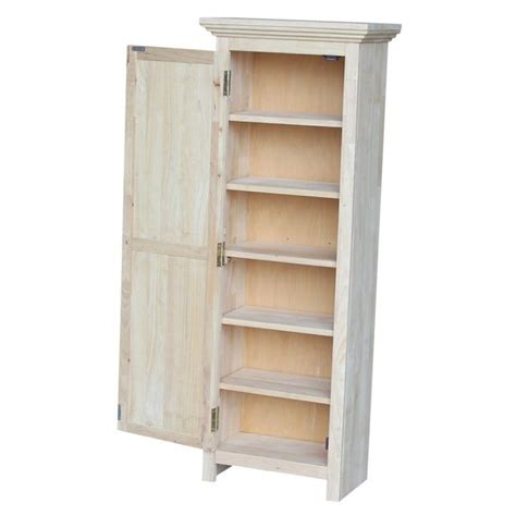 unfinished wood storage cabinets unfinished 48 quot storage cabinet cu 15