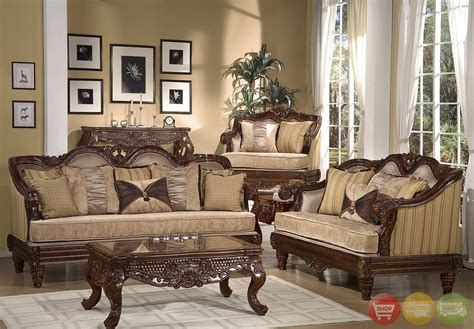 Traditional Formal Living Room Furniture Sets (traditional