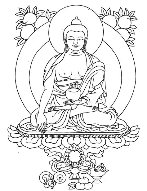 Buddha Statue Drawing at GetDrawings | Free download