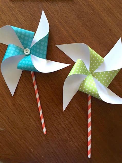 paper pinwheels  diys guide patterns