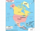 Buy North America Political Map