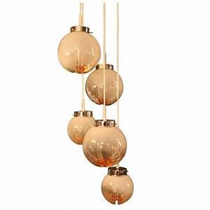 Lustre Suspension Design : lustre suspension mazzega en verre de murano 1960 design market ~ Teatrodelosmanantiales.com Idées de Décoration