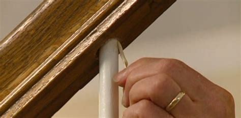 repair  loose staircase baluster spindle todays