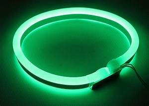 Neon Led 12v : green 12v led neon rope light waterproof neon led flexible 12v for home ~ Medecine-chirurgie-esthetiques.com Avis de Voitures