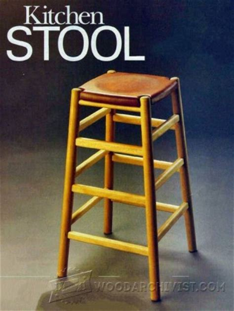 Kitchen Stool Plans ? WoodArchivist