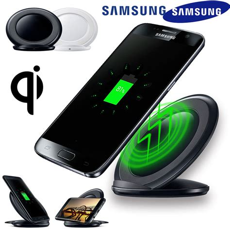 Wireless Charging Stand Qi Fast Charger Dock For Samsung