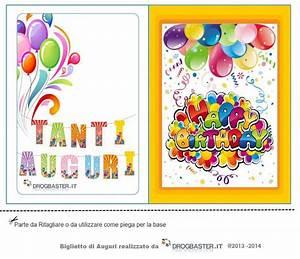 Biglietti Gratis Compleanno Stampa Il Biglietto D39auguri