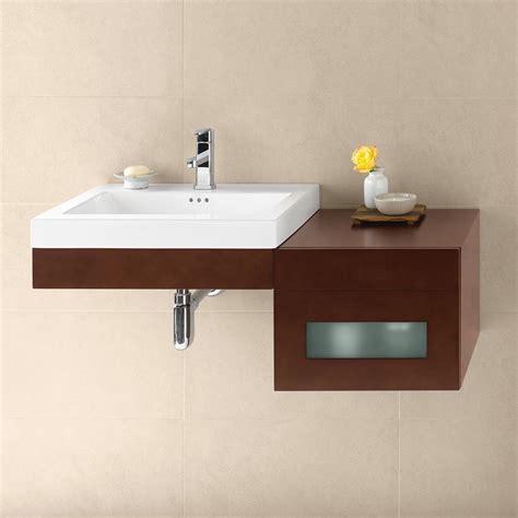 Mounted Vanity 23 quot adina wall mounted bathroom vanity base cabinet