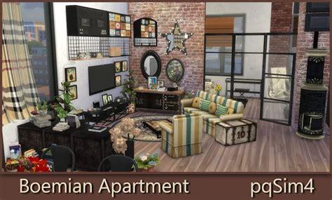 sims  ccs   bohemian apartment  pqsim