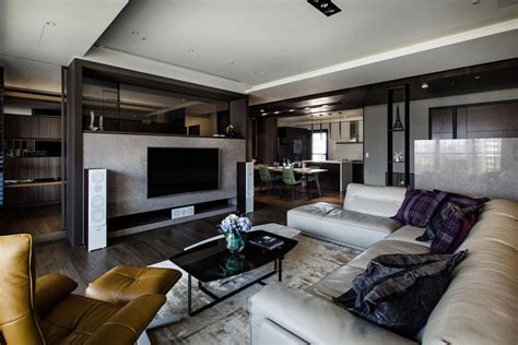 Best Interior Designed Homes - lin s modern apartment in kaohsiung city taiwan designed by pmd caandesign architecture and