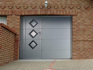 Porte De Garage Avec Portillon : portes de garage chevalier sa ~ Melissatoandfro.com Idées de Décoration