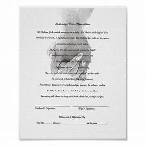 certificate marriage vow renewal template print zazzle With vow renewal certificate template