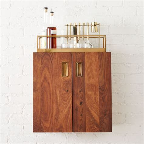 Wall Mounted Bar Cabinets For Home by Wall Mounted Bar Cabinet Cb2