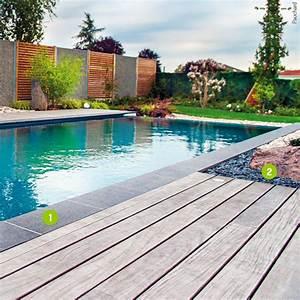merveilleux margelle noire pour piscine 2 paysagers With margelle noire pour piscine