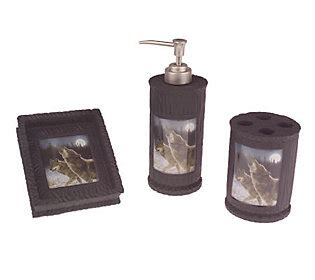 Wolf Bathroom Accessories by Hautman Brothers Howling Wolf 3 Bath Accessories