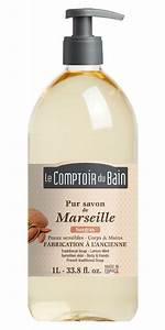 Le Comptoir Du Bain : savon surgras de marseille 1l le comptoir du bain ~ Teatrodelosmanantiales.com Idées de Décoration