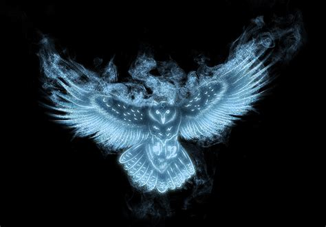 Background Digital Owl Wallpaper by Owl Patronus Hd Wallpaper And Background Image